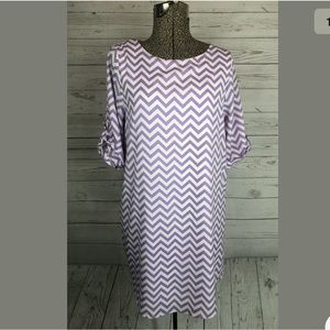 The impeccable pig size small purple dress